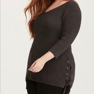 Torrid sweater dress size 1 plus size
